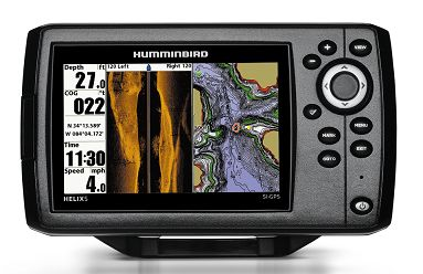 humminbird HELIX 5 for side imaging