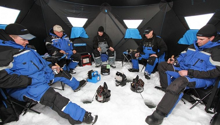 best ice fishing shelter review