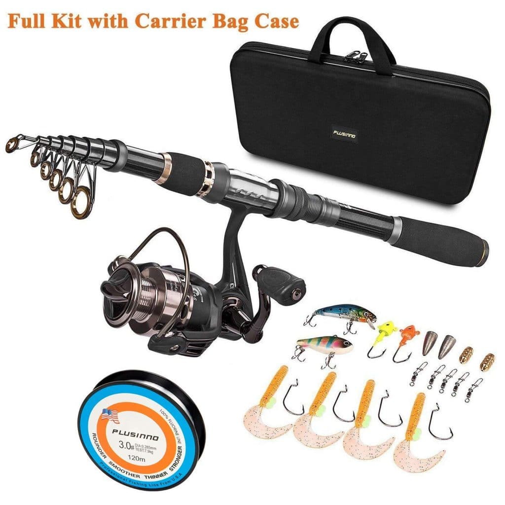 45e39548c4e4 Best Travel Fishing Rods [Spinning and Kits] - 2019 Buyers Guide